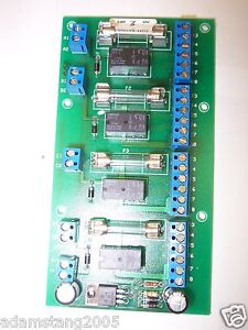 SECURITY DOOR CONTROLS SDC CW-2 5099 250 2 AMP FUSE RATING BOARD