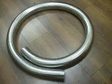 40mm Flexible Polylock Stainless Steel Hose Flexi Tube 1/4 Metre Exhaust 250mm