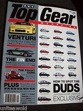 TOP GEAR Magazine 20 JDPower VENTURI Bond Bug US Styling Alfa Spider GTV May95