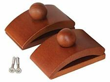 2 Large Wooden Quilt Hangers & Screws for Wall Hangings, Hang up & Display Quilt