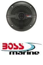 Boss Marine 2-Wege Boot Sound Musik Lautsprecher Set schwarz 150Watt