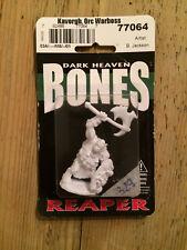 Reaper, Bones, Dark Heaven miniature: Kavorgh, Orc Warboss