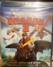 How to Train Your Dragon 2 (Blu-ray/DVD/Digital HD, 2014) NEW
