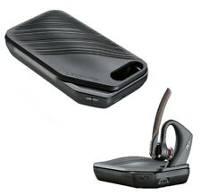 NEW OEM Plantronics Voyager 5200 Bluetooth Headset With Charchinge Case Black