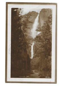 1908 RPPC Real Photo Postcard ~ YOSEMITE FALLS, No. 336 ~ Pillsbury Picture Co.