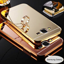 Hard Aluminum Metal Mirror PC Back Case Cover For Samsung S8 Plus Note 5 S7 Edge
