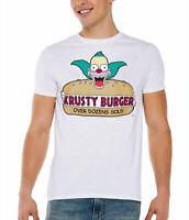 The Simpsons Krusty Burger Adult T-Shirt
