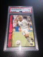 Landon Donovan 2002 Panini World Cup Rookie Card RC #118 PSA 7 USA