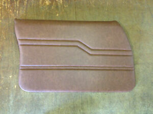 Holden Front and Rear Door Trim Cards (Brown) suits HQ, HJ, HX and HZ
