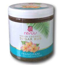 Reniu Coconut Sugar Rub FRANGIPANI Infusion 240ml