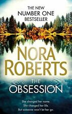Nora Roberts, The Obsession, Like New, Paperback