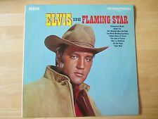 Elvis Presley LP:  Elvis Sings Flaming Star, U.K. Release RCA International