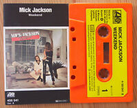 MICK JACKSON - WEEKEND (ATLANTIC 450541) 1979 GERMANY CASSETTE TAPE DISCO POP