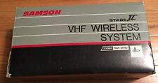 Samson Stage II VHF Wireless System (Channel 9) 200 MHz New