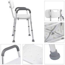Sedia Da doccia e Da Vasca Per Anziani Con Schienale e Braccioli Estraibili