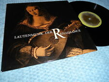 "Italian Lute Music from the Renaissance 10"" LP Walter Gerwig  France 1961 EX/EX"