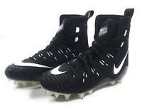 Nike Force Savage Elite TD Football Cleats Black White Mens 857063-011