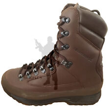 BRITISH ARMY - KARRIMOR SF Brown Combat Boots GORETEX COLD Wet WEATHER Leather
