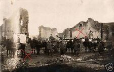20840/Original Photo 9x13cm, Fleet Column 177 Hann. in Verm. ornes, 1916