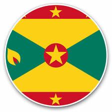 2 x Vinyl Stickers 25cm - Grenada Caribbean Saint Cool Gift #9148