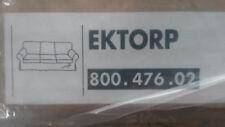 Ikea Ektorp Bezug für 3er Sofa, weiß, wollweiß, NEU