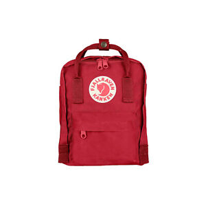 NWT Fjallraven - Kanken Mini Classic Backpack for Everyday, DEEP RED