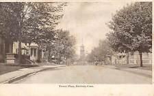 DANBURY, CT ~ TERRACE PLACE, HOMES & FIRE TOWER,METROPOLITAN NEWS PUB c. 1903-06