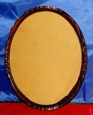Antik Holzrahmen Fotorahmen 24 x 29 Bilderrahmen mit Glas