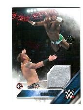 WWE Apollo Crews SD 2016 Topps Then Now Forever Shirt Relic Card SN 232 of 299