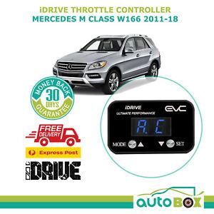EVC BLACK iDRIVE THROTTLE CONTROLLER FOR Mercedes M Class W166 2011-2018