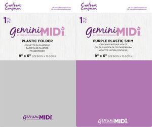 Crafter's Companion Gemini Midi Replacement Plastic Shim or Plastic Folder