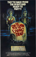 72262 RETURN OF THE LIVING DEAD Movie Horror Zombies Decor Wall Print POSTER