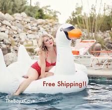Giant Swan Inflatable Pool Riding Toy Flamingo - Jumbo Size - 1.88m long!!!