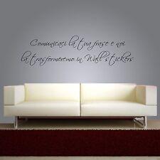 wall stickers frasi adesive per pareti personalizzate scrivi tua frase aforismi