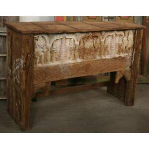 NEW Handcarved console table / counter table