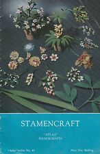 """Atlas"" Handicraft Leaflet No 49 HANDICRAFT STAMENCRAFT"