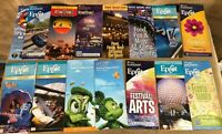 Lot 15 Walt Disney World brochure maps Flower & Garden festival of the arts