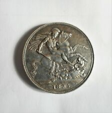 1895 Queen Victoria  CROWN      HIGH GRADE