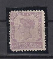 BD5704/ CANADA – PRINCE EDWARD – SG # 19 MINT NO GUM – CV 155 $