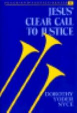 Jesus' Clear Call to Justice (Peace and Justice), Nyce, Dorothy, Very Good Books