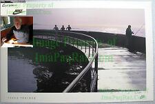 NITF Vintage NIKE Running Poster ¤ Terra Trainer ¤ Santa Barbara Pier ¤ SIGNED!!