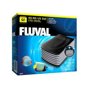 Fluval Q1, Q2 Aquarium Air Flow Pumps, Quiet Reliable Fish Tank Oxygen Pump