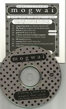 MOGWAI Kicking RARE ADVNCE SAMPLER PROMO CD w/ MY BLOODY VALENTINE Arab Strap