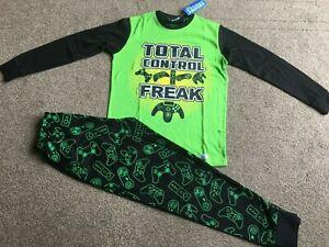 Boys Gaming Take Control Pyjamas Pj's Size 7 - 8 years - New with Tags!!!