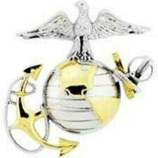 "Quality Expertly Designed Pin - 1.75"" United States Marine Emblem E2 Left -"