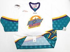 2015 ECHL ALL STAR GAME ORLANDO AUTHENTIC WHITE CCM 6700 JERSEY GOALIE CUT 58