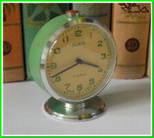 Soviet Vintage Slava Alarm Clock USSR 1980's~Perfect Condition #251020