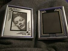 "New Listing2 Vintage Reverse Painted Deco Frames 5""x4"" Nr!"