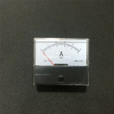 1pcs Analog Amp Panel Meter Current Ammeter DC 0-5A 5A DH670 Ampere Meter