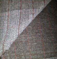 Italian pure wool tweed two sided Fabric 150cm wide